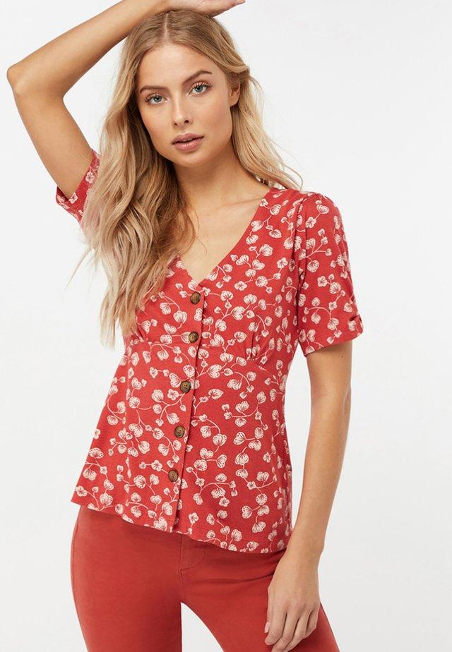 GABRIELLE - Print T-shirt - red