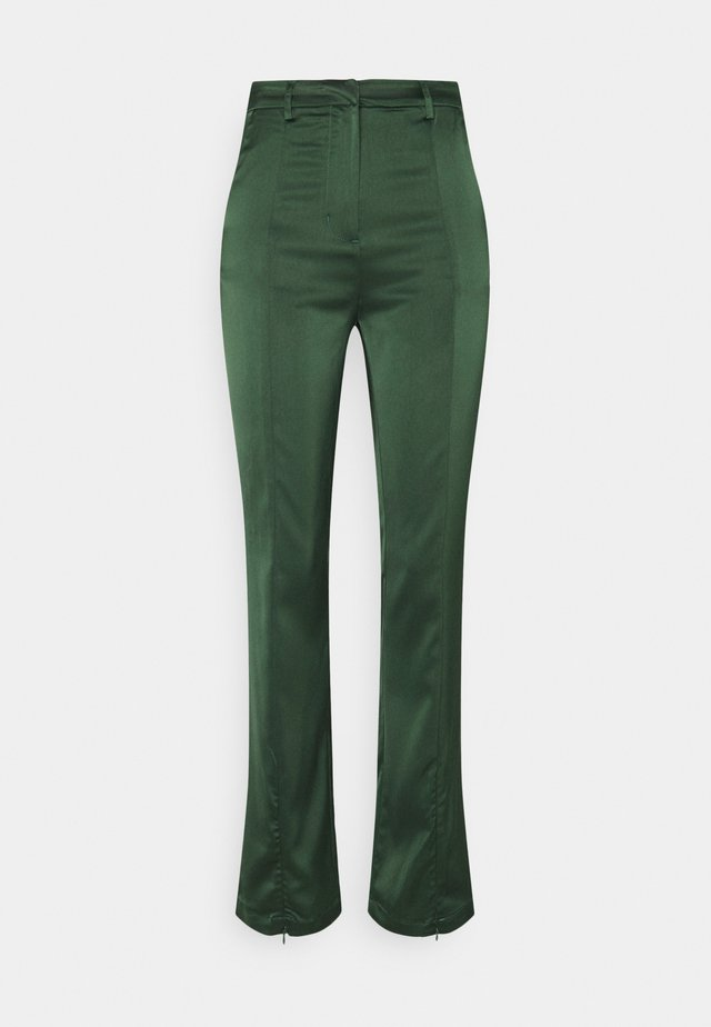 LADIES TROUSERS - Tygbyxor - forest green