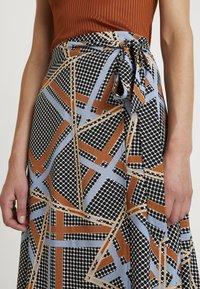 Soyaconcept - BIRNA - A-line skirt - faded blue combi - 4