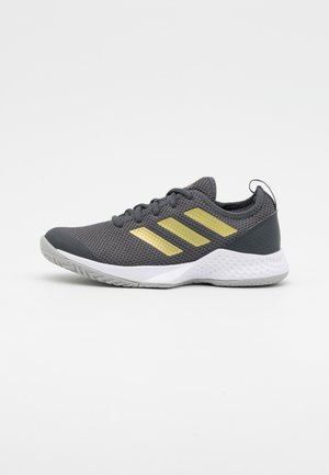 COURT CONTROL  - Zapatillas de tenis para todas las superficies - grey six/gold metallic/footwear white