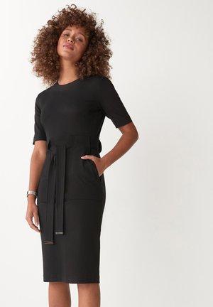 PONTE BODYCON - Shift dress - black