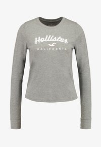 Hollister Co. - CLASSIC TIMELESS TECH  - Topper langermet - grey - 4