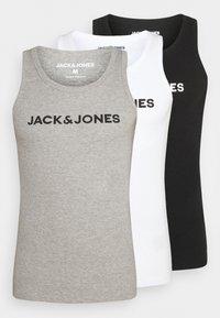 JACLOGO TANK 3 PACK - Undershirt - black/white/grey