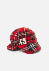 Mini Rodini - CHECK UNISEX - Cap - red - 0