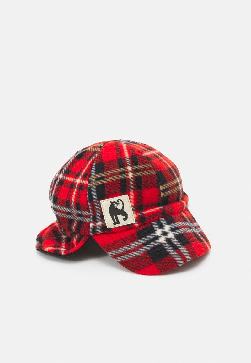 Mini Rodini - CHECK UNISEX - Cap - red