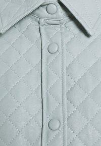 Glamorous Petite - Short coat - dusty blue - 2