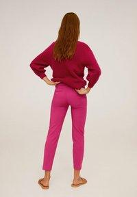 Mango - ALBERTO - Spodnie materiałowe - fuchsia - 2