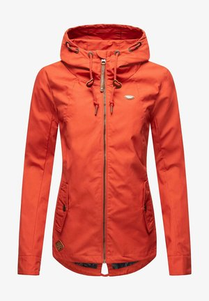 Outdoor jacket - chili red