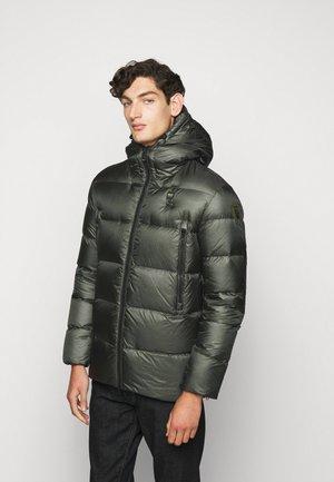 BLOUSON IMBOTTITO PIUMA - Down jacket - dark green