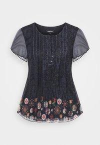 Desigual - NORTE - Print T-shirt - black - 5