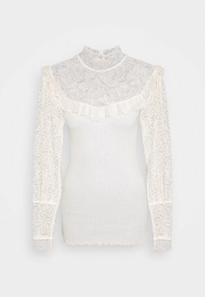 TURTLENECK - Long sleeved top - soft powder