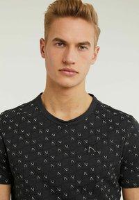 CHASIN' - MONO - Print T-shirt - black - 3