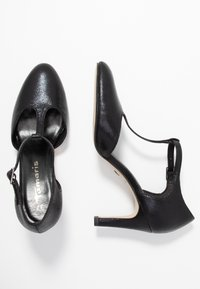 Tamaris - Klassiske pumps - black metallic - 3
