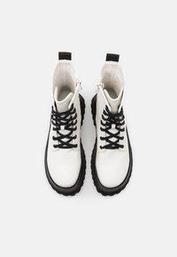 RAID - HARLOW - Platform ankle boots - white - 5