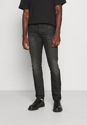 5 POCKETS PANT - Slim fit jeans - black denim