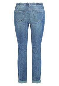 Samoon - Slim fit jeans - blue denim - 4