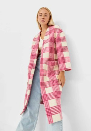Cappotto classico - mottled pink