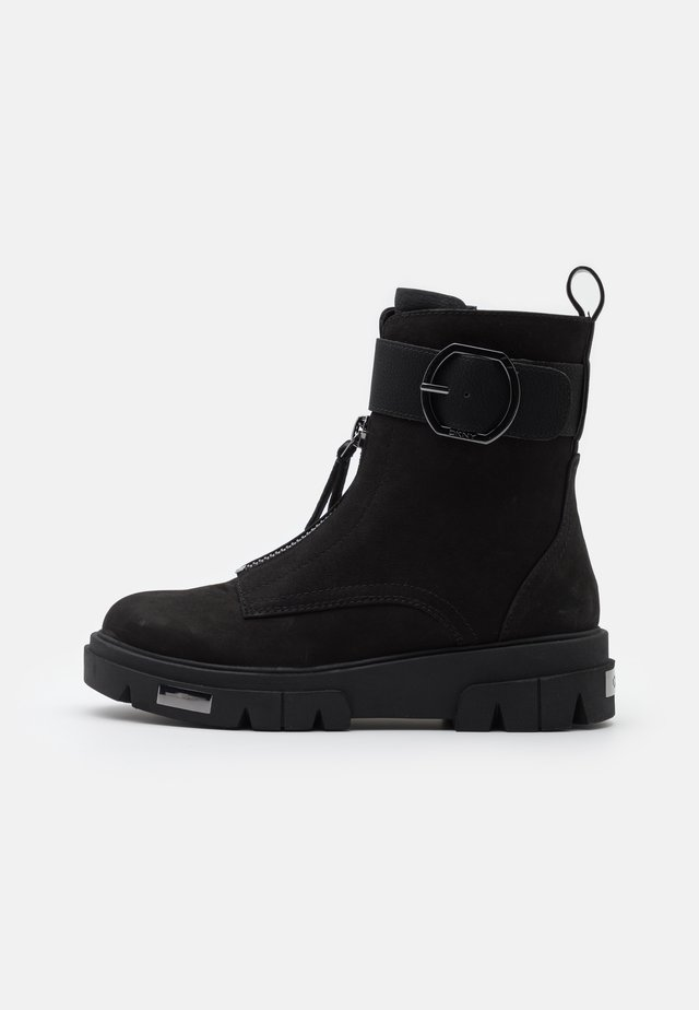 LAINA - Lace-up ankle boots - black