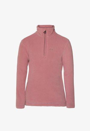 1/4 ZIP MUTE TD - Fleece jumper - berry melee