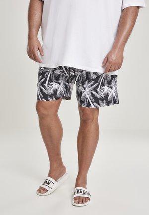 Swimming shorts - palm/white