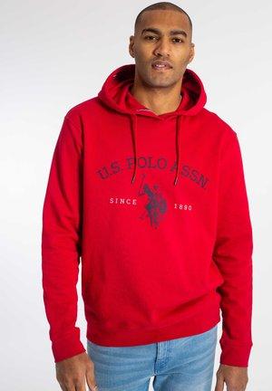 CARL - Bluza z kapturem - jester red
