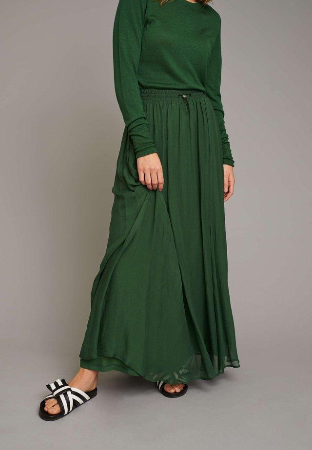 Plooirok - green
