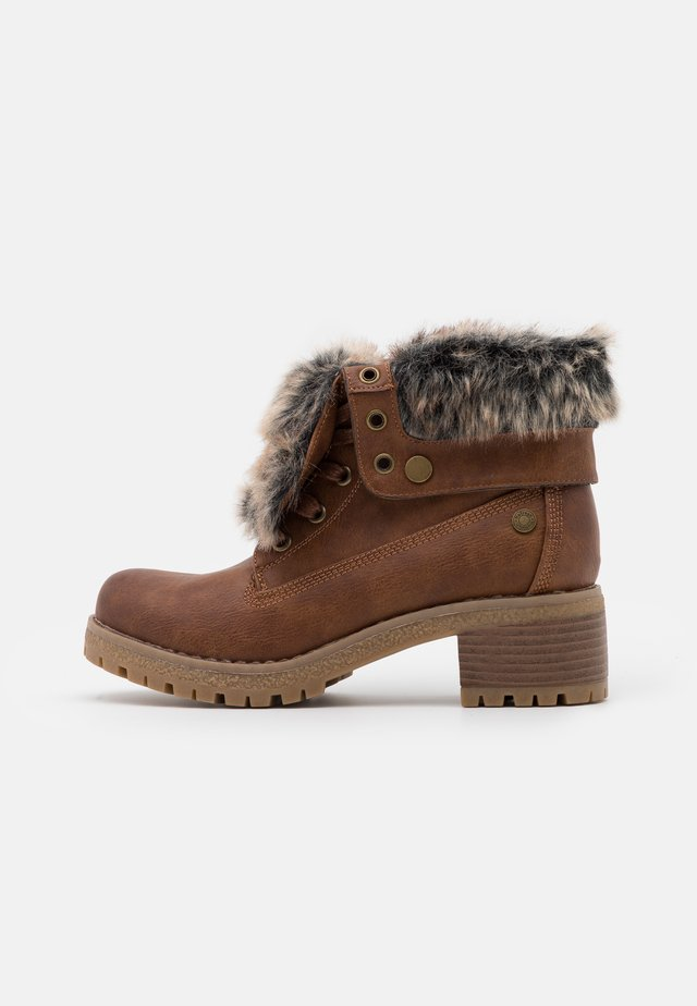 Boots à talons - camel