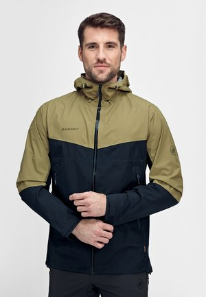 CONVEY TOUR HOODED JACKET MEN - Outdoorjas - olive-marine