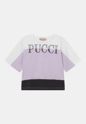 T-shirt print - lilla