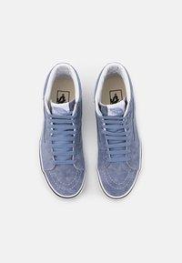 Vans - SK8-HI UNISEX - High-top trainers - tempest blue/true white - 3