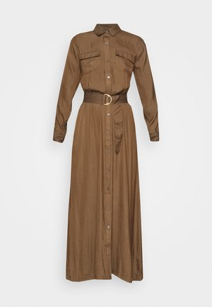 SHIRTDRESS SOLID - Maxi dress - heritage olive