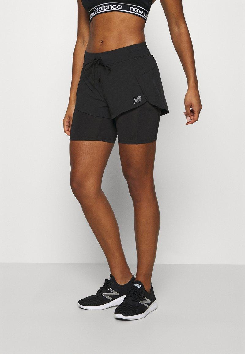 New Balance - IMPACT RUN - kurze Sporthose - black