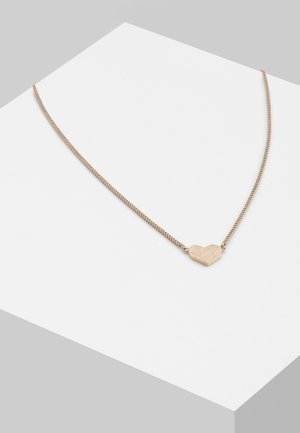 Necklace - rosegold coloured