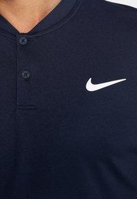 Nike Performance - DRY BLADE - T-Shirt print - obsidian/white - 5