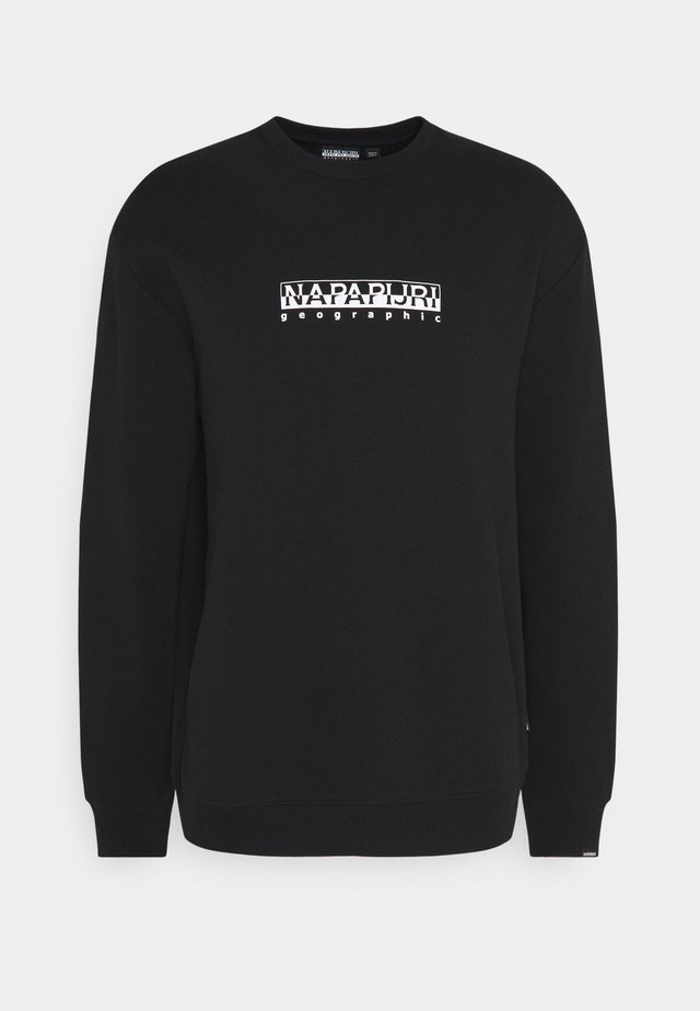 BOX UNISEX - Sweatshirt - black