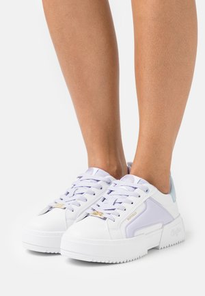 Joggesko - white/purple
