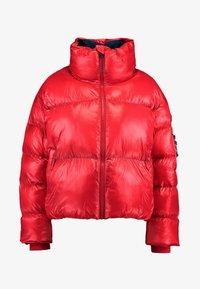 Pepe Jeans - CLAIRE - Zimní bunda - lipstick red - 4