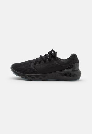 CHARGED VANTAGE - Neutral running shoes - black