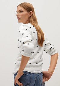 Mango - DOTTY - Jumper - écru - 2