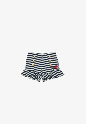 Shorts - bianco/blu