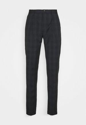 Oblekové kalhoty - dark blue