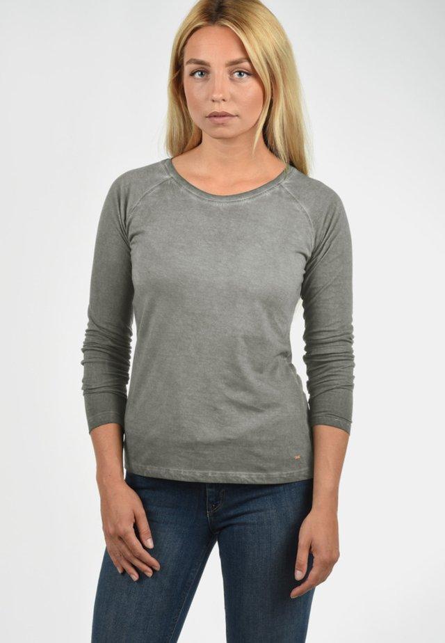 KAROLA - Long sleeved top - mid grey