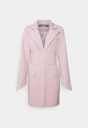 TIE WAIST DRESS - Tubino - baby pink