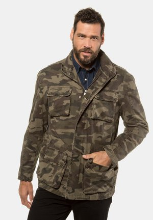 Sports jacket - khaki multi