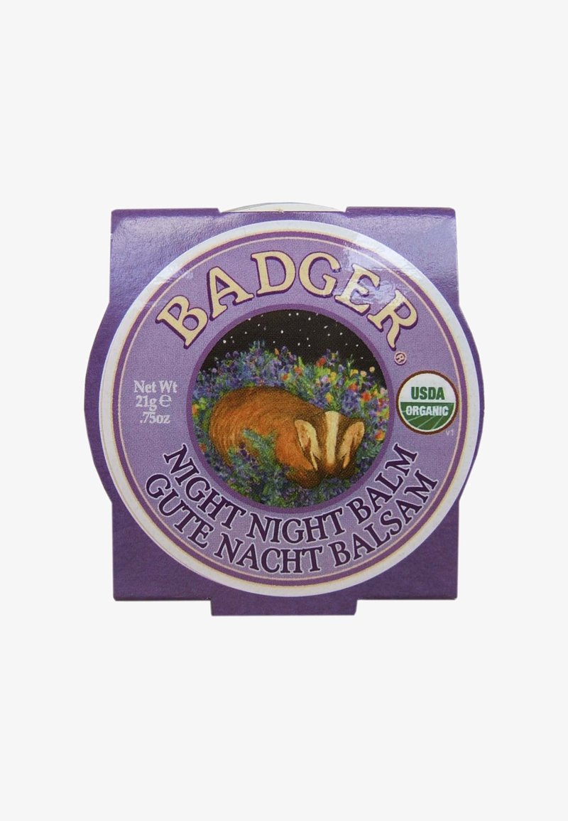 Badger - NIGHT NIGHT BALM 21G - Night care - -