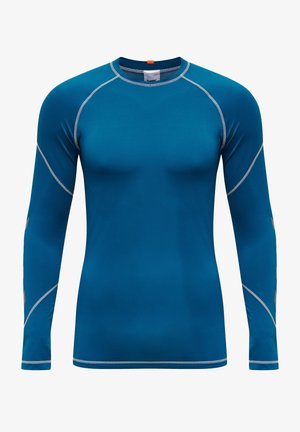 Long sleeved top - blue sapphire