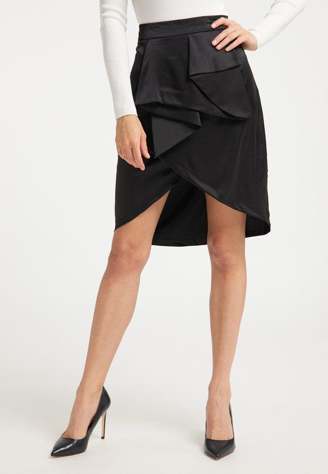 A-snit nederdel/ A-formede nederdele - schwarz