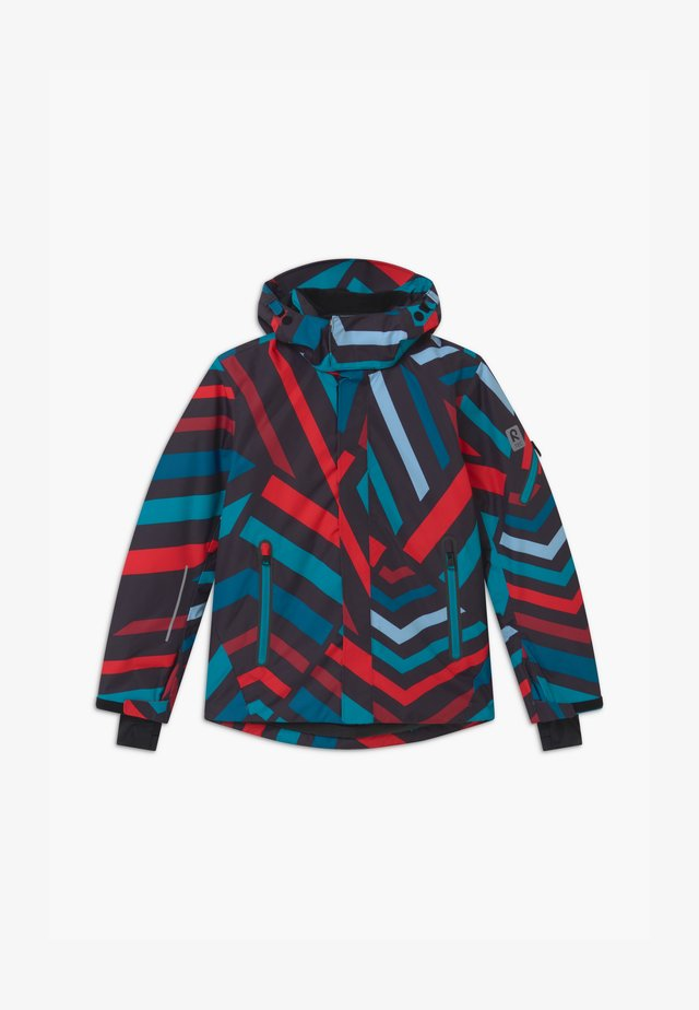 WINTER WHEELER UNISEX - Snowboard jacket - dark sea blue