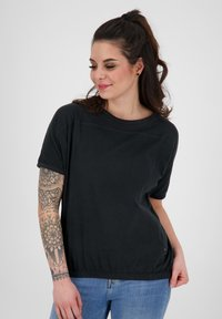 alife & kickin - Basic T-shirt - moonless - 0