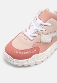 Emporio Armani - Trainers - light pink/white - 6